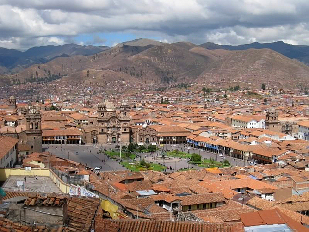 La plaza de armas Cuzco