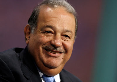 L'homme d'affaire mexicain Carlos Slim