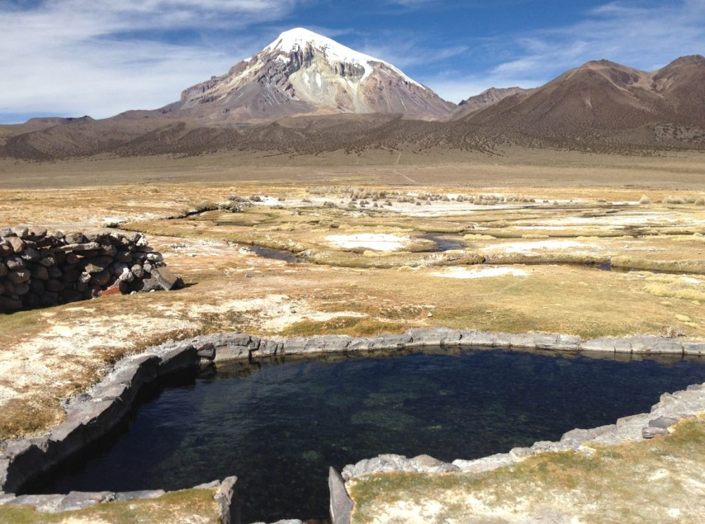 Le Parc National Sajama en Bolivie