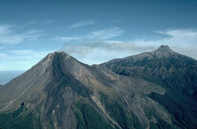 Mexique volcan Colima