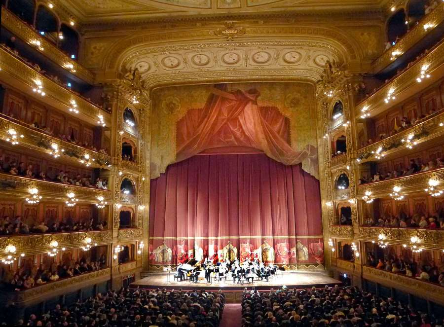 Interieur du Teatro Colon