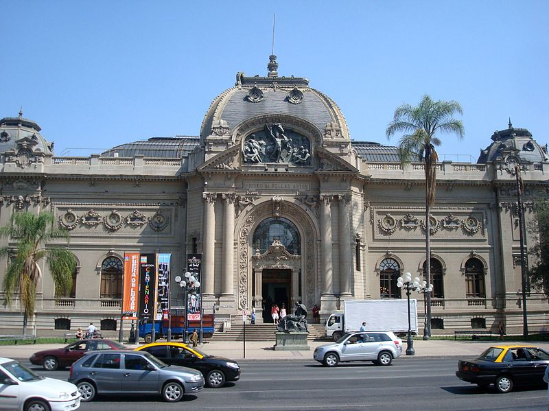 le musee national des beaux arts de santiago