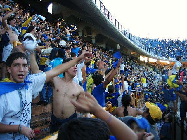 Supportes de Boca Junior