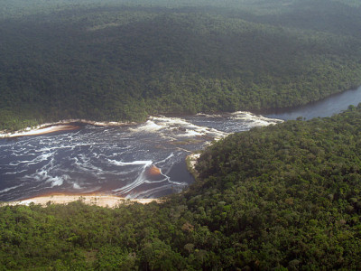 Le parc national de Canaima