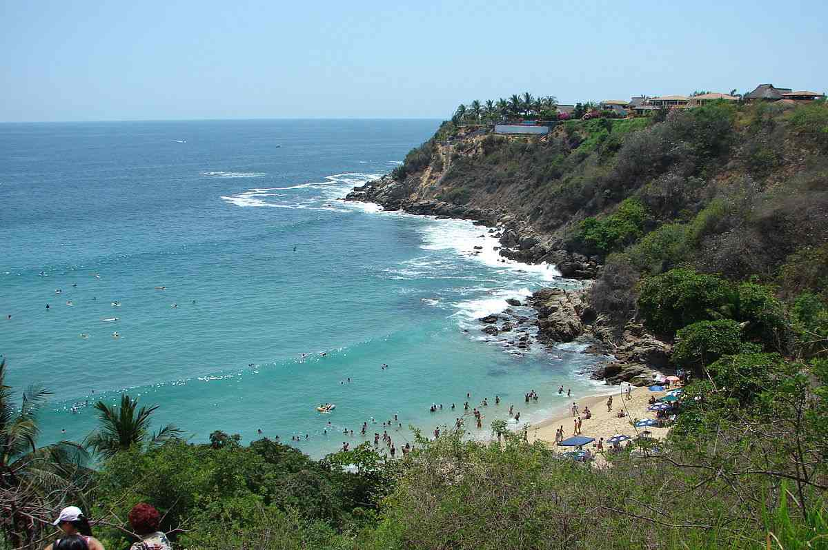 Puerto Escondido mexique