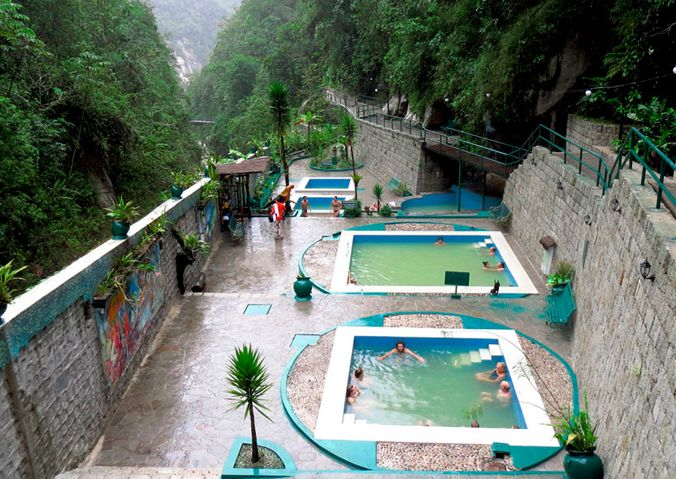complexe thermal d'Aguas Calientes